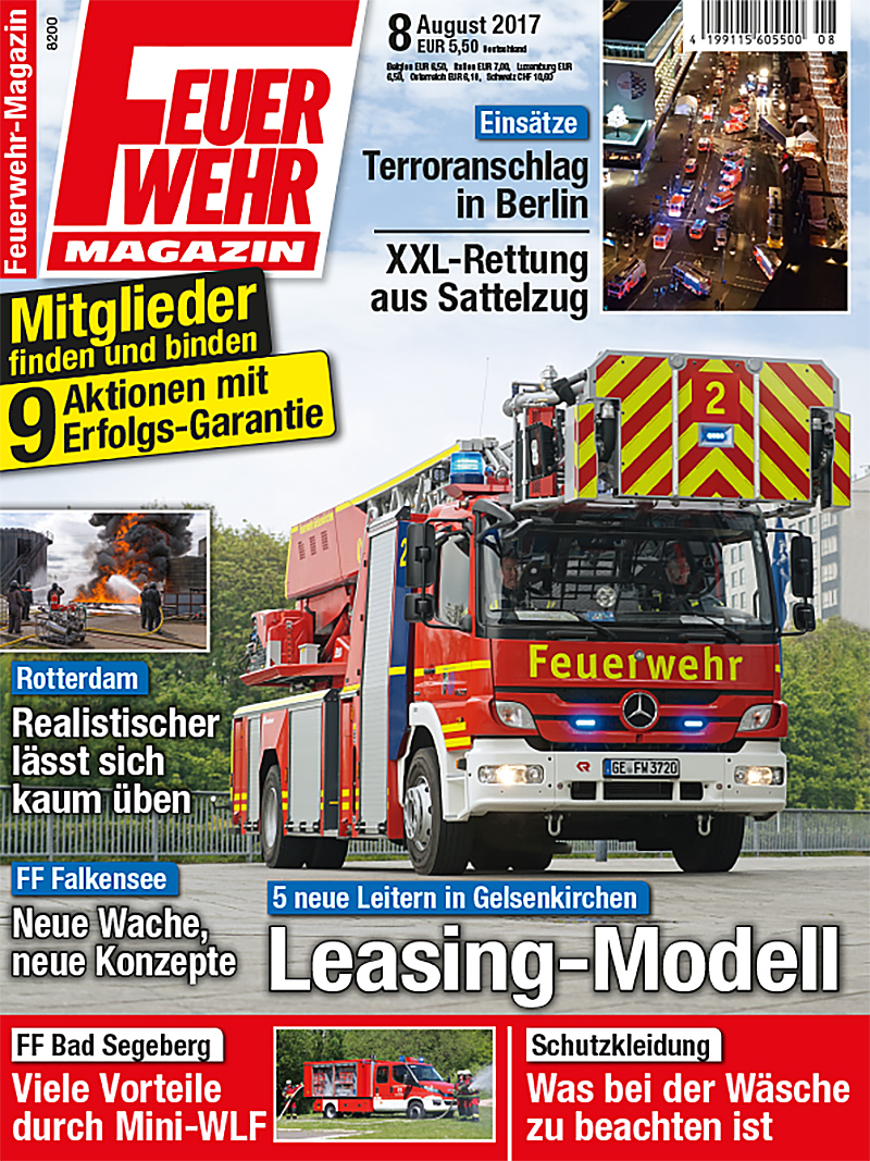 Produkt: Feuerwehr-Magazin Digital 8/2017