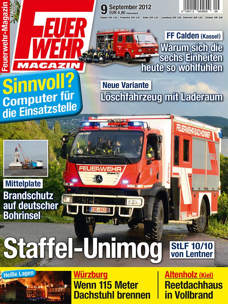 Produkt: Feuerwehr-Magazin Digital 9/2012