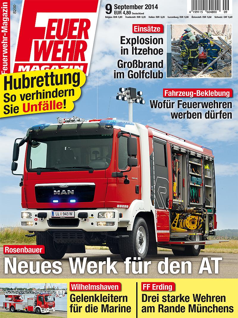 Produkt: Feuerwehr-Magazin 9/2014 Digital