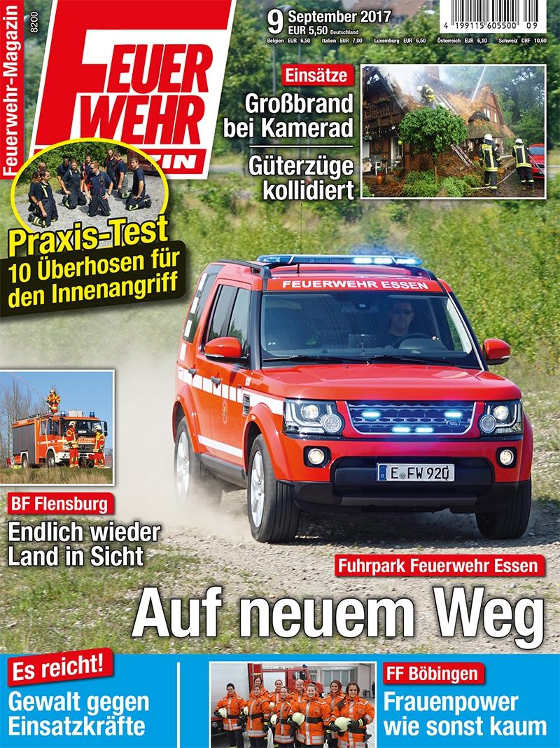 Produkt: Feuerwehr-Magazin Digital 9/2017