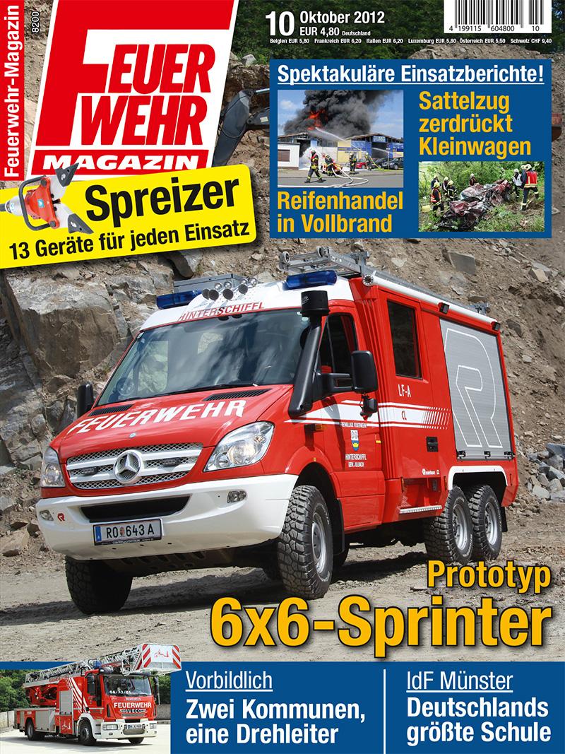 Produkt: Feuerwehr-Magazin Digital 10/2012