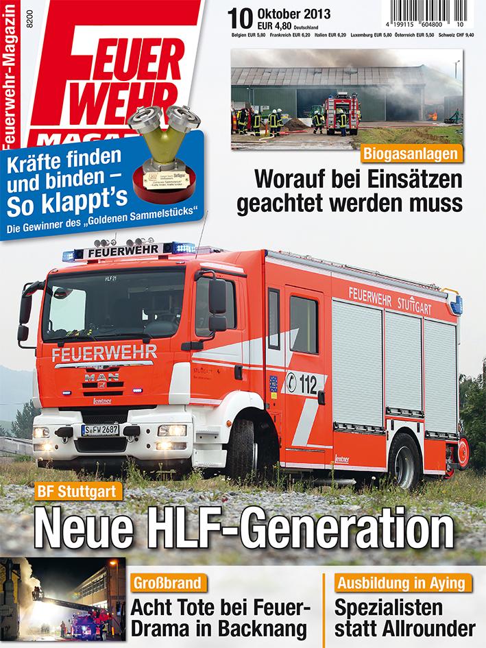 Produkt: Feuerwehr-Magazin 10/2013 Digital