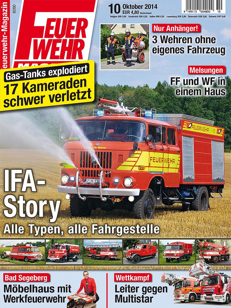 Produkt: Feuerwehr-Magazin Digital 10/2014