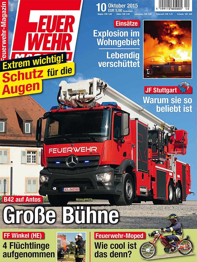 Produkt: Feuerwehr-Magazin 10/2015 Digital