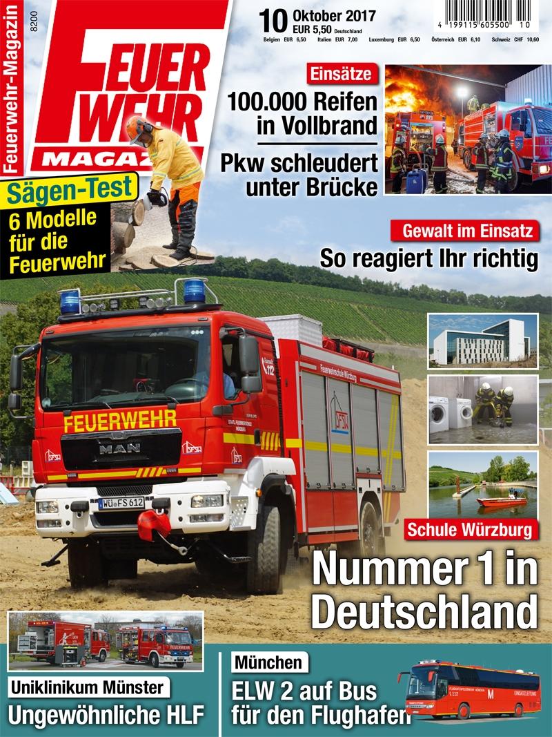 Produkt: Feuerwehr-Magazin Digital 10/2017
