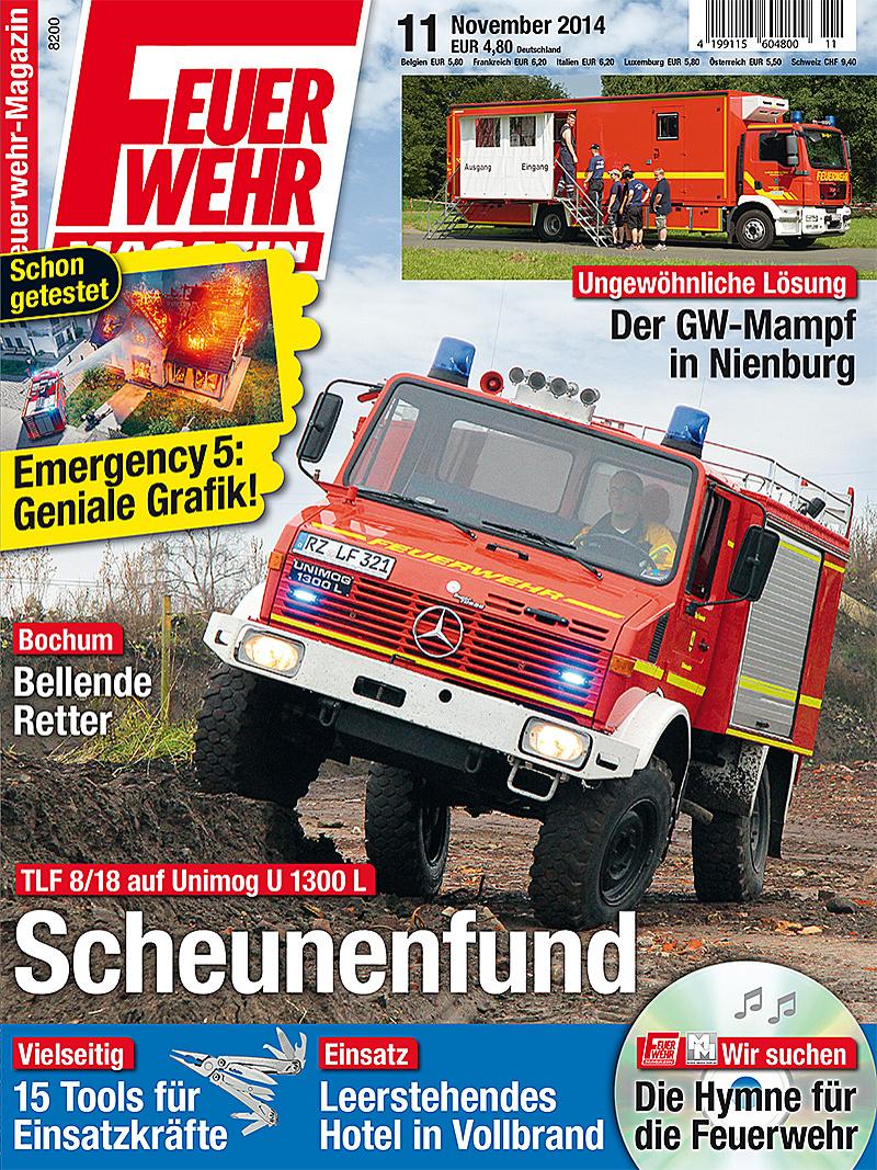 Produkt: Feuerwehr-Magazin Digital 11/2014
