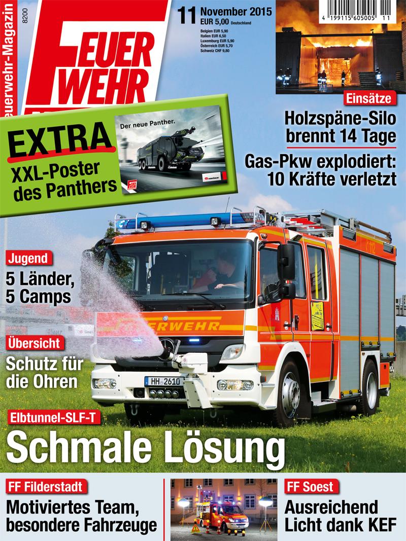 Produkt: Feuerwehr-Magazin Digital 11/2015