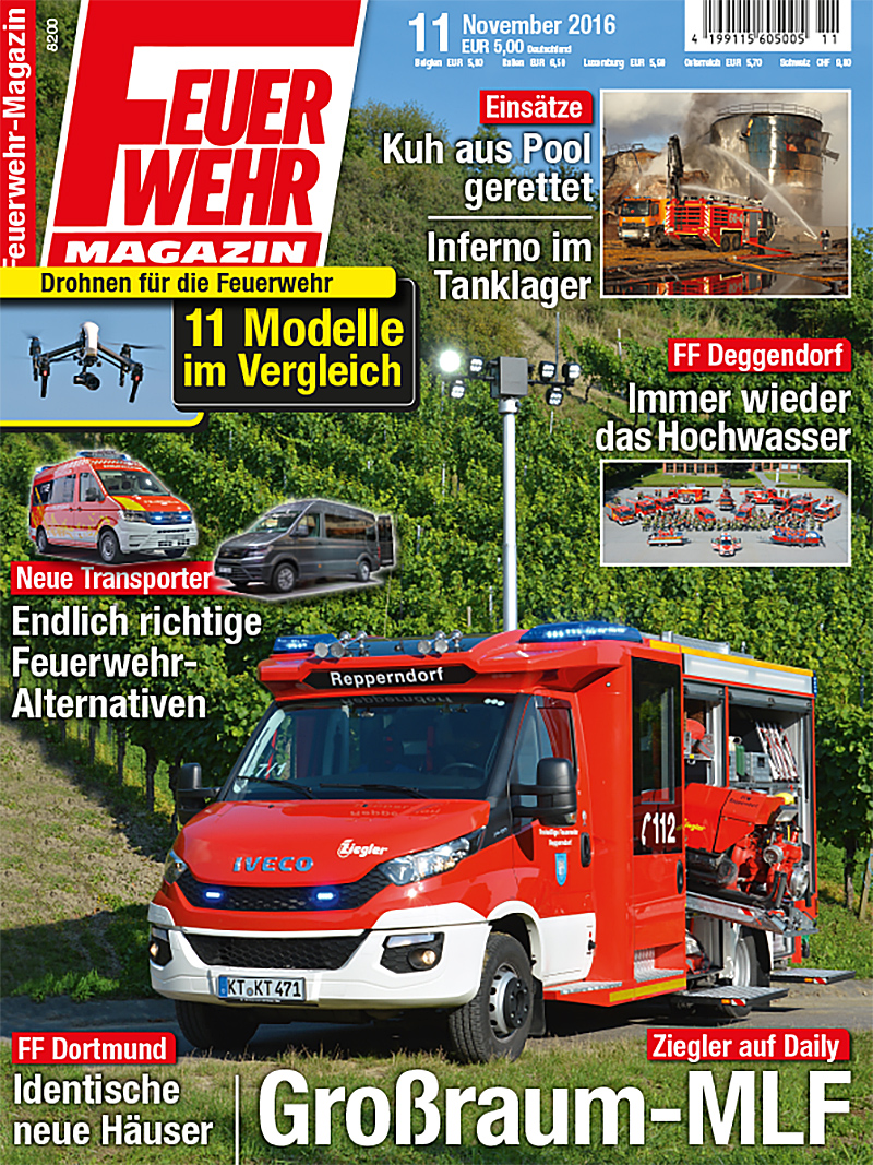 Produkt: Feuerwehr-Magazin 11/2016 Digital
