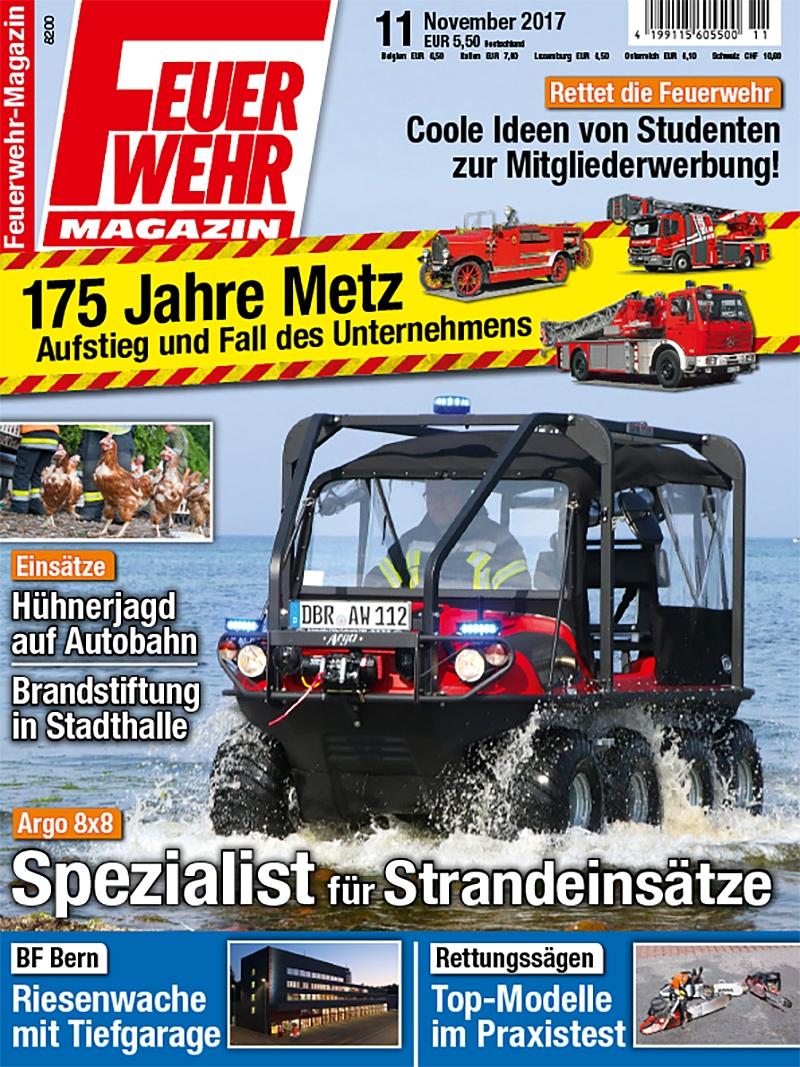 Produkt: Feuerwehr-Magazin Digital 11/2017