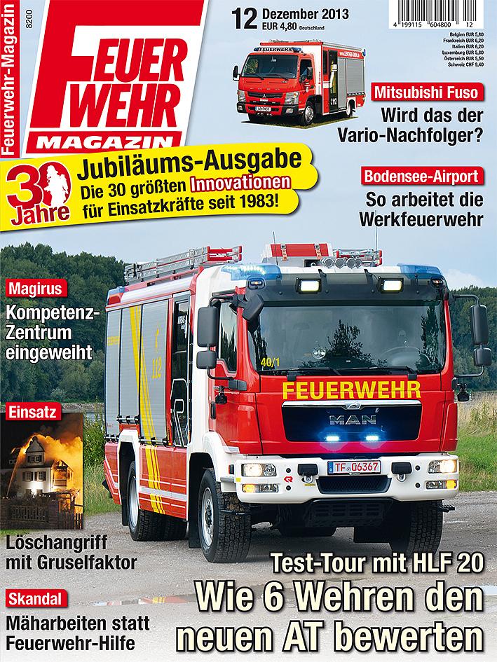 Produkt: Feuerwehr-Magazin Digital 12/2013