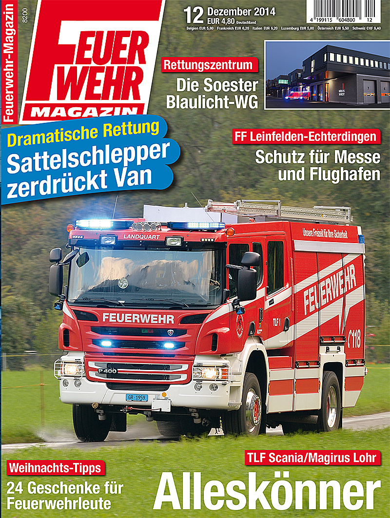 Produkt: Feuerwehr-Magazin Digital 12/2014
