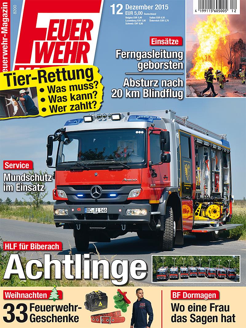 Produkt: Feuerwehr-Magazin Digital 12/2015