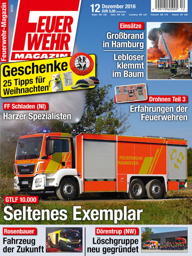 Produkt: Feuerwehr-Magazin Digital 12/2016