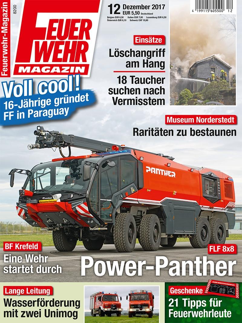 Produkt: Feuerwehr-Magazin Digital 12/2017