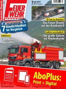 Produkt: Feuerwehr-Magazin Jahresabonnement Plus