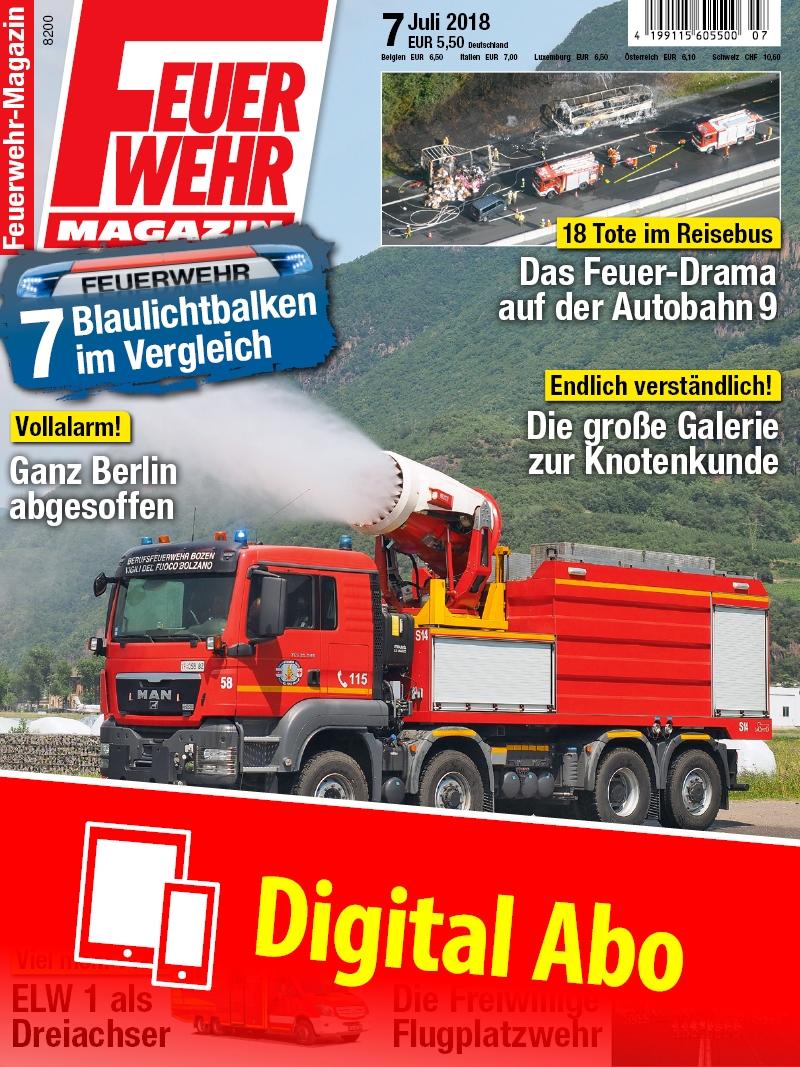 Produkt: Feuerwehr-Magazin Jahresabonnement Digital