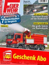 Produkt: Geschenkabo Feuerwehr-Magazin
