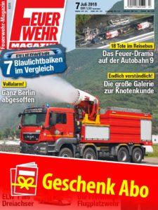 Produkt: Feuerwehr-Magazin Geschenkabonnement Print