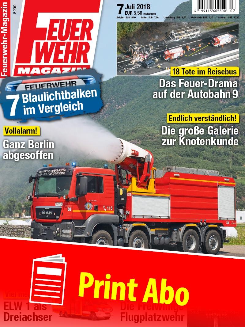 Produkt: Feuerwehr-Magazin Jahresabonnement Print