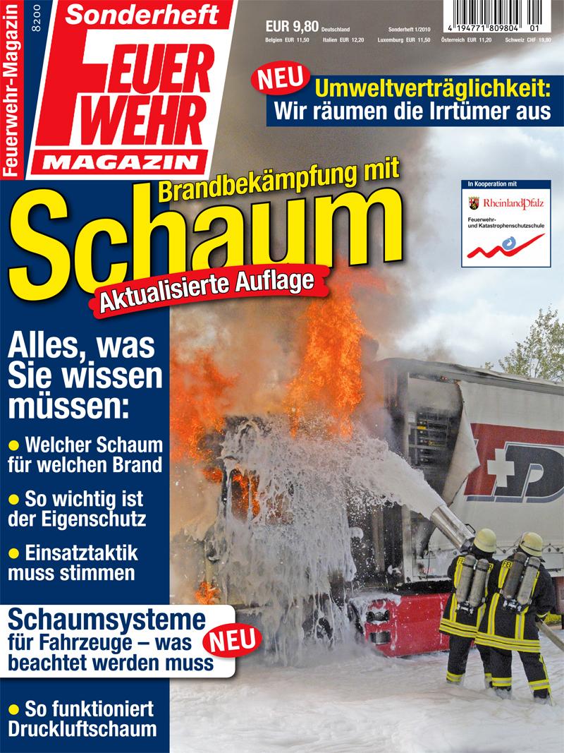 Produkt: Sonderheft: Brandbekämpfung mit Schaum