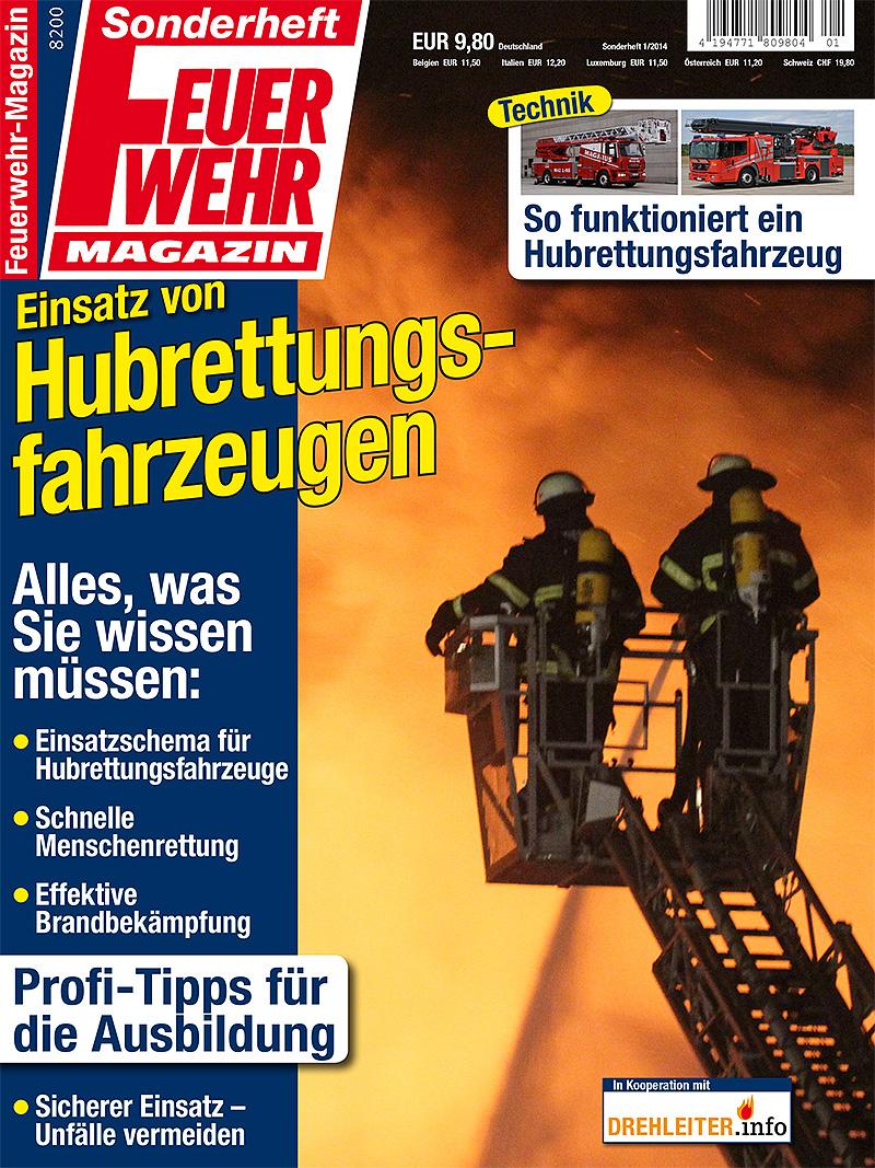 Produkt: Sonderheft: Einsatz von Hubrettungsfahrzeugen