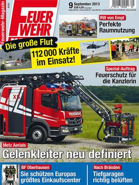 Produkt: Feuerwehr-Magazin Digital 9/2013