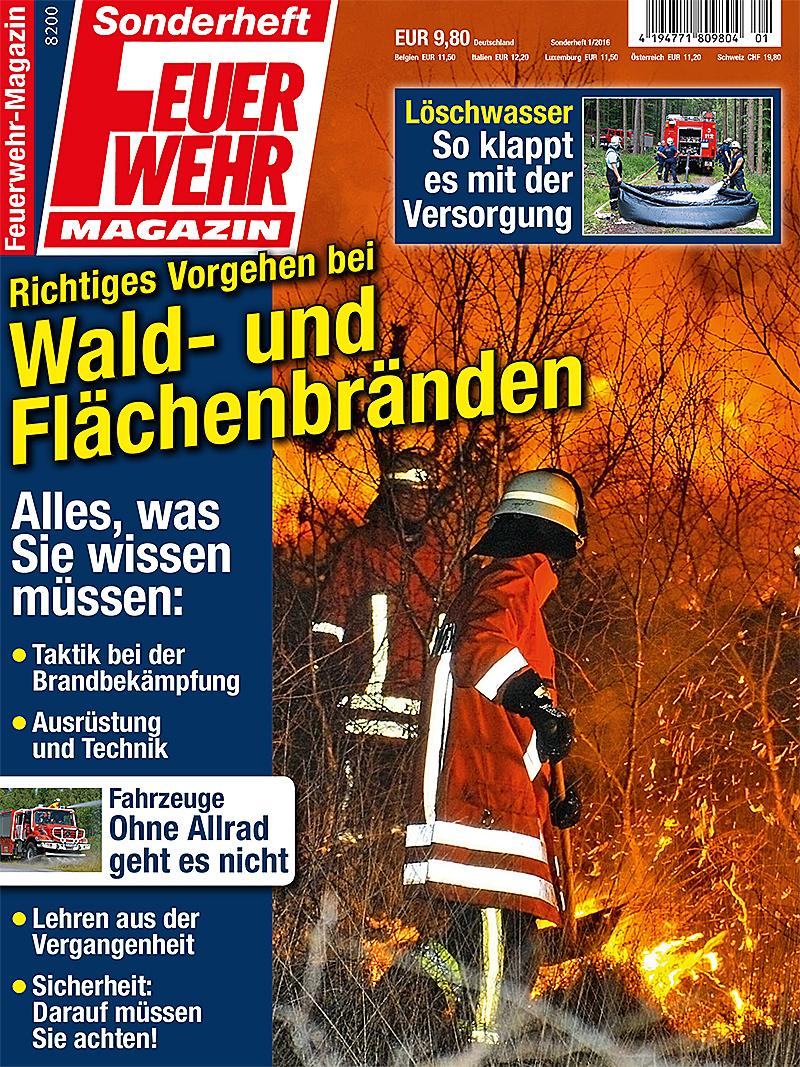 Produkt: Sonderheft: Richtiges Vorgehen bei Wald- und Flächenbränden