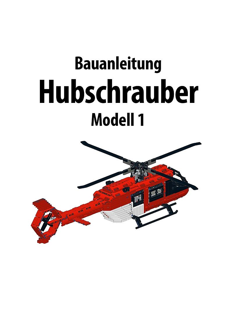 Produkt: Bauanleitung Hubschrauber Modell 1