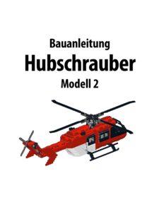 Produkt: Bauanleitung Hubschrauber Modell 2