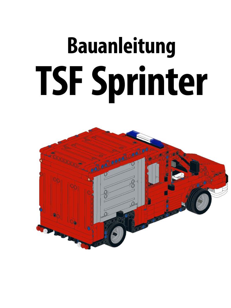 Produkt: Bauanleitung TSF Sprinter