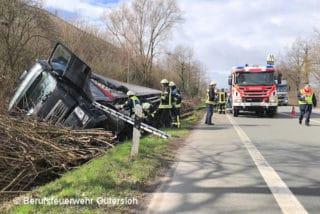 Verkehrsunfall mit Feuerwehr