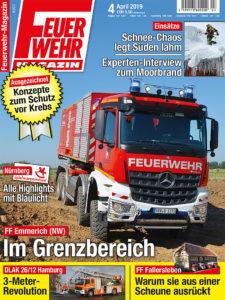 Produkt: Feuerwehr-Magazin 4/2019