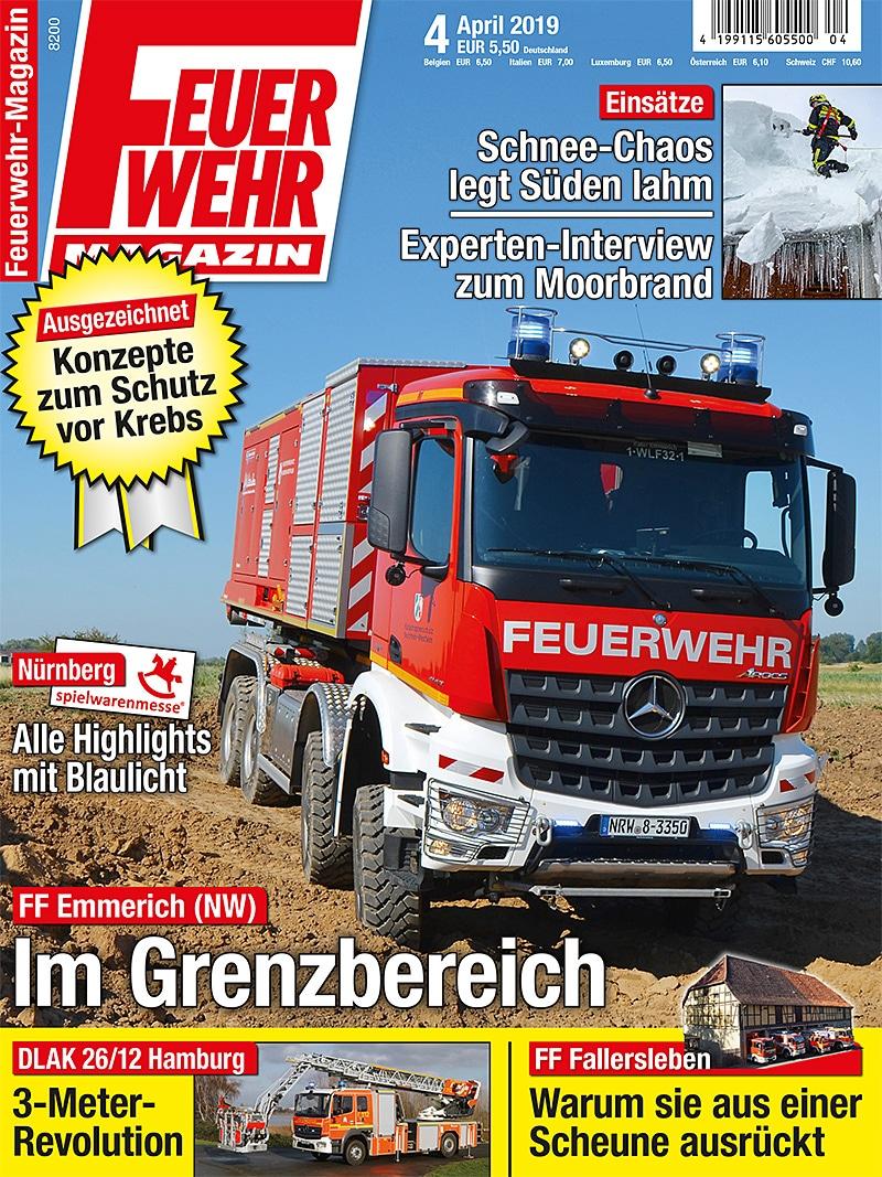 Produkt: Feuerwehr-Magazin 4/2019 Digital