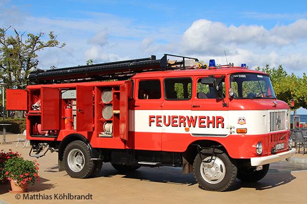 Löschgruppenfahrzeug Feuerwehr IFA W50