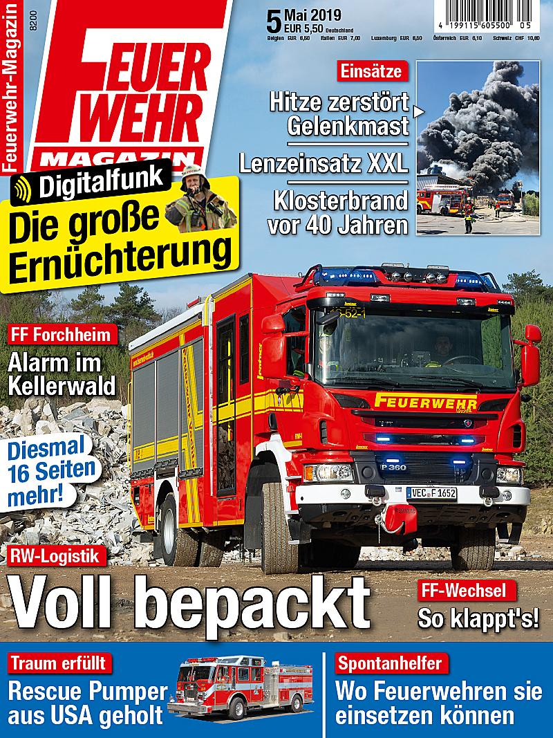 Produkt: Feuerwehr-Magazin 5/2019 Digital