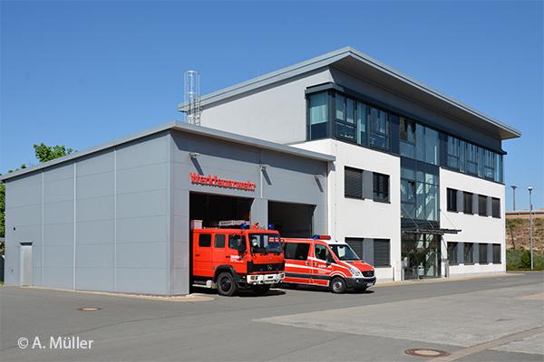 Feuerwache Betriebsfeuerwehr Siemens Healthineers in Forchheim
