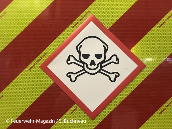 Gefahrgut Giftig