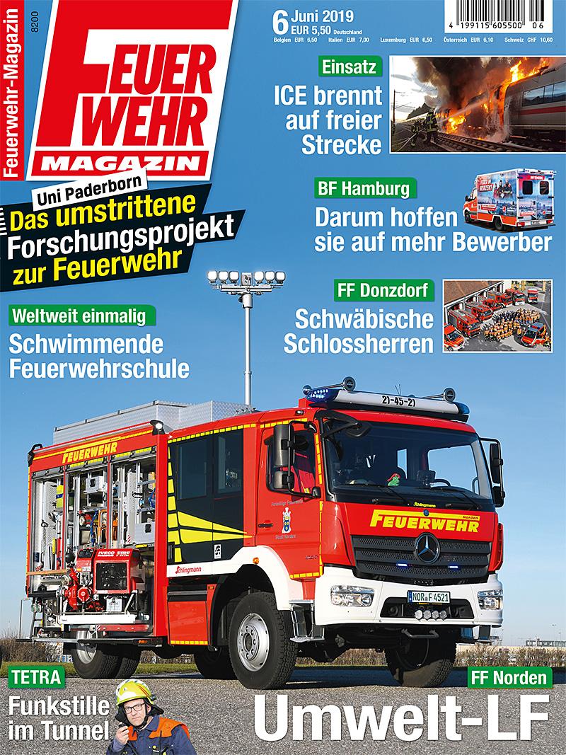 Produkt: Feuerwehr-Magazin 6/2019 Digital