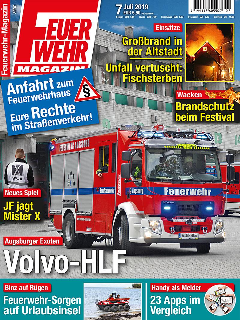Produkt: Feuerwehr-Magazin 7/2019