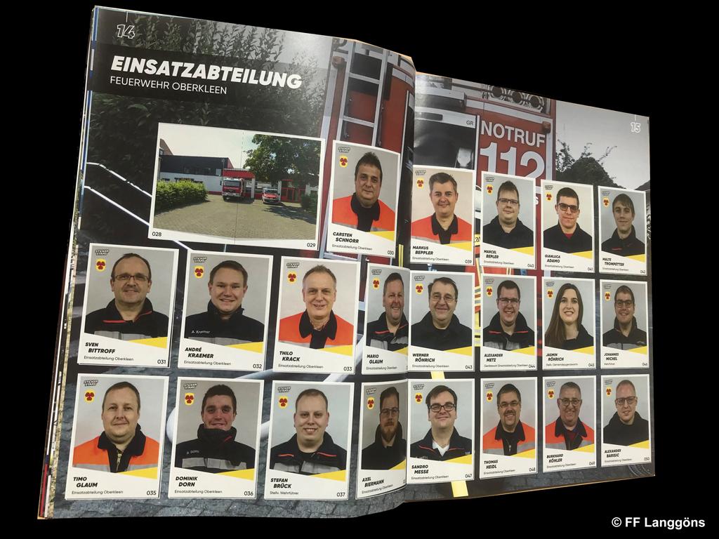 Sammelfieber Stickeralbum Zur Mitgliederwerbung Feuerwehr