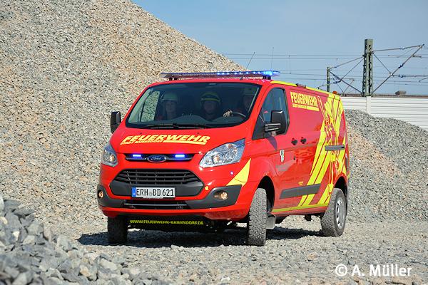 Allrad Transporter Als Vorausrustwagen Feuerwehr Magazin