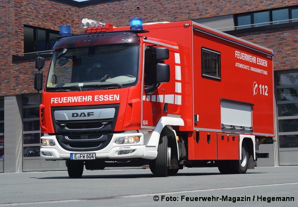 Feuerwehrfahrzeuge auf DAF-Fahrgestellen | Feuerwehr-Magazin