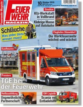 Feuerwehr-Magazin 10/2019