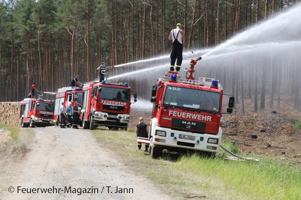Waldbrandbekämpfung