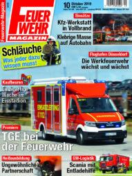 Produkt: PDF-Download: Feuerwehr-Magazin 10/2019
