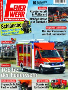 Produkt: Feuerwehr-Magazin 10/2019