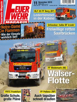 Feuerwehr-Magazin 11/2019