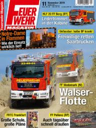 Produkt: PDF-Download: Feuerwehr-Magazin 11/2019