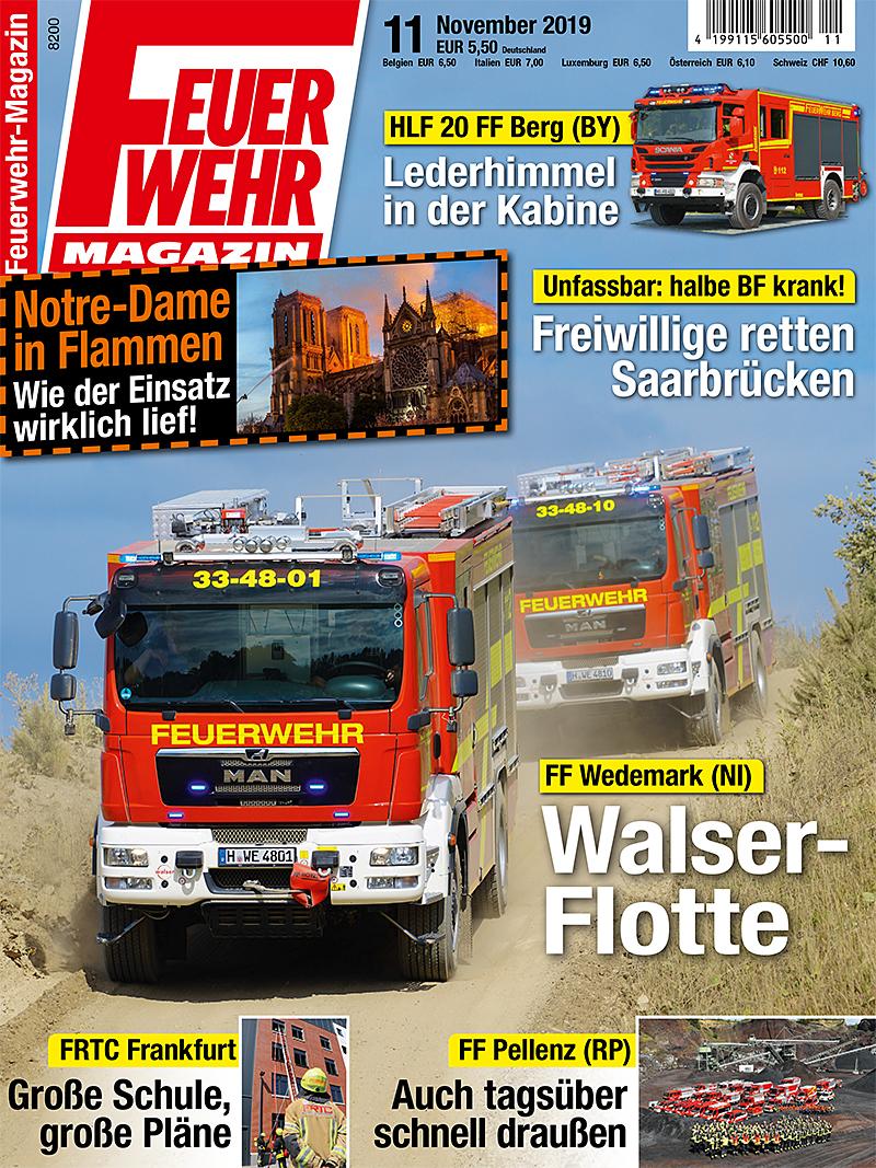 Produkt: Feuerwehr-Magazin 11/2019 Digital