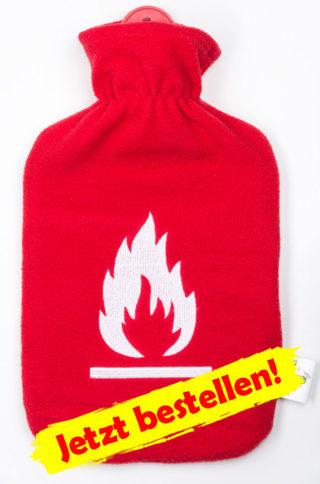 Wärmflasche Feuerwehr